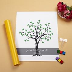 """""""Vårt bröllop Träd"""" Fingeravtryck"""