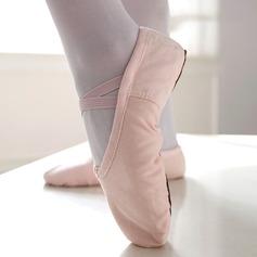 Kvinnor Duk Platta Skor / Fritidsskor Ballet Dansskor