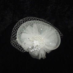 Damer' Gorgeous Netto garn/Strass Fascinators