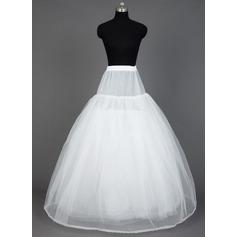 Women Nylon/Tulle Netting Floor-length 8 Tiers Petticoats