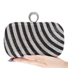 Charming Crystal/ Rhinestone/Alloy Clutches
