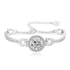 Gentil Alliage/Zircon de Dames Bracelets