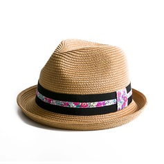 Señoras' Precioso Rafia paja Sombrero de paja