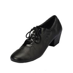 Мужская кожа На каблуках Сандалии Латино Бальные танцы Практика Обувь для Персонала Обувь для танцев