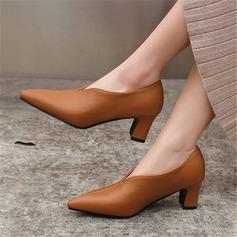 Femmes Cuir en microfibre Talon bottier Escarpins avec Autres chaussures