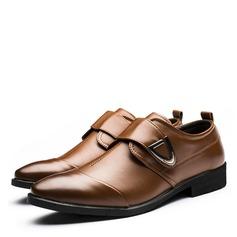 Miesten Keinonahasta Monk-hihnat Rento Miesten oxford-kengät