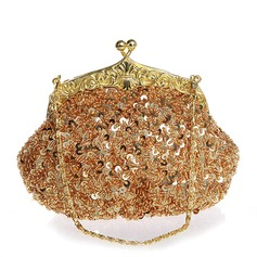 Elegant Pailletten Handtaschen/Wristlet Taschen/Braut Geld-Beutel
