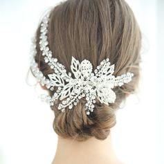 Ladies Glamourous Crystal/Rhinestone/Alloy/Imitation Pearls Combs & Barrettes Rhinestone/Crystal (Sold in single piece)