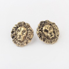Lion Alloy Women's Fashion Earrings