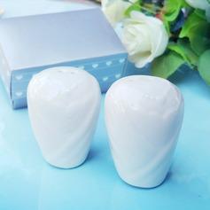 Klassisk stil/Härlig Keramik Salt & Pepparkar