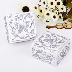 Butterfly Top Cuboid Favor Boxes