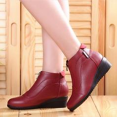 De mujer Cuero Zapatillas Zapatillas Zapatos de danza