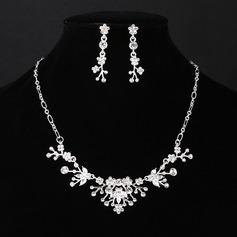 Maravilloso Aleación Crystal De mujer Sistemas de la joyería