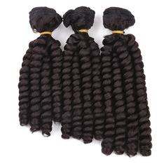 En vrac cheveux synthétiques Tissage en cheveux humains (Vendu en une seule pièce) 220g
