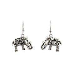Holy Elephant Metal Women's Fashion Earrings