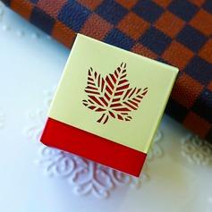 Cubique Carte papier Boîtes cadeaux (Lot de 12)