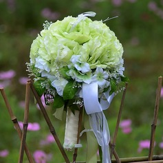 Bright Hand-tied Artificial Silk Bridesmaid Bouquets