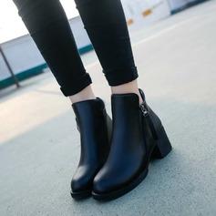 Naisten PU Chunky heel Nilkkurit kengät