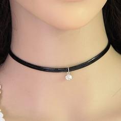 Chic Legering Konstläder Damer' Mode Halsband