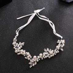 Señoras Especial La perla de faux Diademas