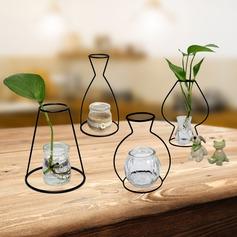 Elegant Metal Vases
