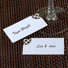 Simple Pearl Paper Place Cards (set of 12)