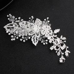 Glamorosa Aleación/La perla de faux Peines y pasador (Se venden en una sola pieza)