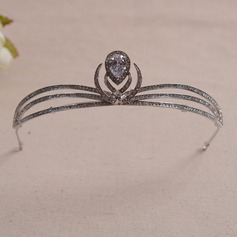 Style Classique/Simple Strass/Alliage/Zircon de Tiaras