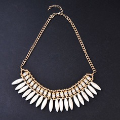 Элегантные сплав/Стразы женские ожерелья