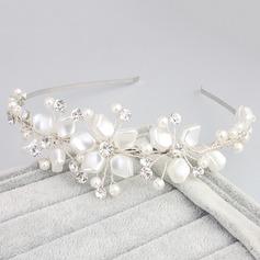 Mode Fauxen Pärla Pannband