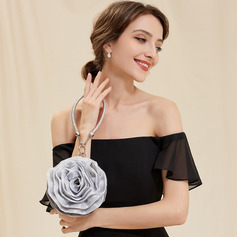 Unique Satin Wristlets/Top Handle Bags/Bridal Purse (012025184)