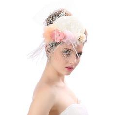 женские Красивая/Мода/Специальный/Элегантные/Уникальный/восхитительно чистая пряжа с Цветок Вуалью