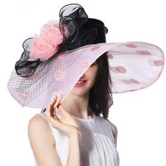 Ladies' Beautiful/Fashion/Glamourous/Elegant/Unique/Amazing/Eye-catching/Charming/Fancy/Romantic/Vintage With Flower Beach/Sun Hats