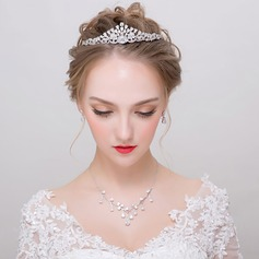Beautiful Zircon Ladies' Jewelry Sets (011113955)