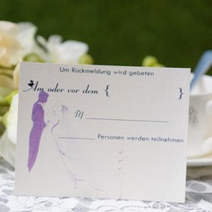Personalized Bride & Groom Style Response Cards