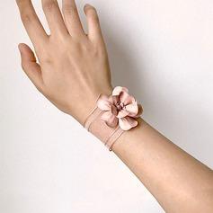 Kukkiva Käsin Sidottu Silkki kukka Ranne kukkakimppu -