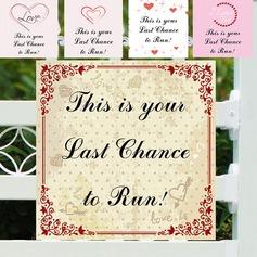 Nice PVC Wedding Sign