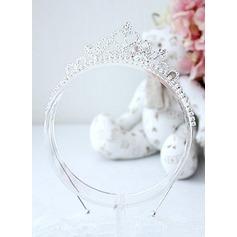 Strass flor Headband