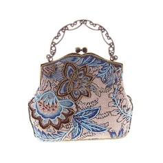 Elegant Broderi Grepp/Totes väskor