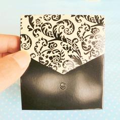 Clássico/Design floral Desenho de flor Papel cartão com Fitas (conjunto de 12)