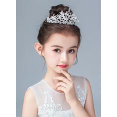 Alliage/De faux pearl/Cristal Tiaras