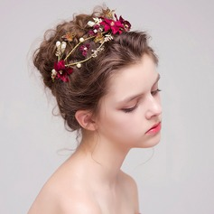 Ladies Beautiful Alloy/Fabric Headbands (Sold in single piece)