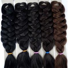Jumbo Braid syntetiska hår flätor (Säljs i ett enda stycke) 170g