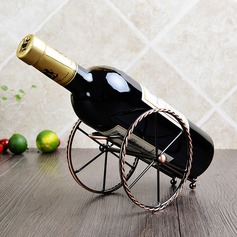 Fort Barbette Shape Stainless Steel/Plating Bottle Holder / Wine Rack