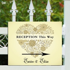 Nice PVC Wedding Direction Sign