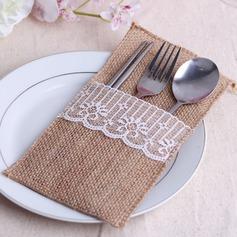 Lovely Linen Cutlery Bag (Set of 6)