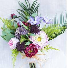 Довольно искусственные цветы Свадебные букеты (продается в виде одной детали) - Свадебные букеты