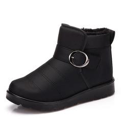 Kvinnor Duk Flat Heel Platta Skor / Fritidsskor Stövlar skor