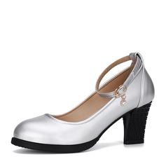 De mujer Cuero de Microfibra Salón Entrenamiento zapatos de personaje Zapatos de danza