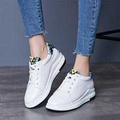 Vrouwen Kunstleer Wedge Heel Wedges met Vastrijgen Anderen schoenen